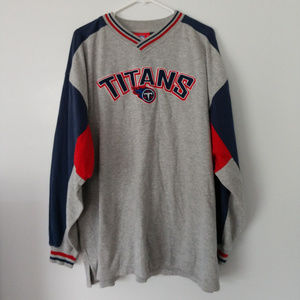 Official NFL Tennessee Titans Sweatshirt Mens 2XL